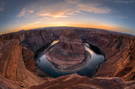 Horseshoe Bend at Dusk