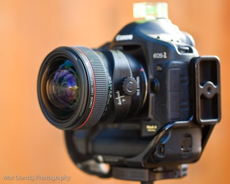 Canon 17mm Tilt Shift lens